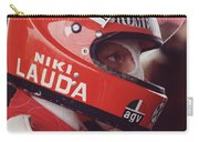 Niki Lauda. 1976 United States Grand Prix Carry-all Pouch