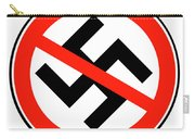 No Nazi Street Sign Carry-all Pouch