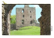 Norham Castle And Entrance Gate Carry-all Pouch