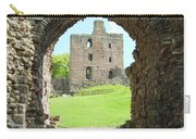 Norham Castle And Tower Through The Entrance Gate Carry-all Pouch