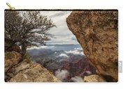 North Rim Fog 1 - Grand Canyon National Park - Arizona Carry-all Pouch