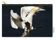 Northern Gannet - Square Crop Carry-all Pouch
