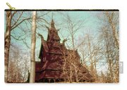 Norwegian Stave Church Carry-all Pouch