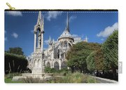 Notre Dame Garden Carry-all Pouch by Jemmy Archer