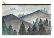 November Mountains Carry-all Pouch by Betsy Hackett
