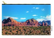 Oak Creek Jack's Canyon Blue Sky Clouds Red Rock 0228 3 Carry-all Pouch