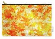 Oak Leaf Pattern Carry-all Pouch