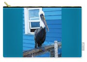 Oceanside Pelican Right  Carry-all Pouch