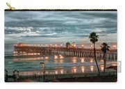 Oceanside Pier At Dusk Carry-all Pouch