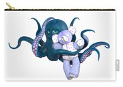 Octopus And Purple Bear Carry-all Pouch