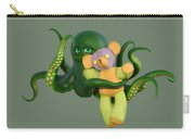 Octopus Green And Bear Carry-all Pouch