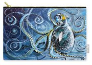 Octopus Of Nine Brains Carry-all Pouch