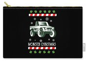 Offroad Monster Truck Christmas Xmas Winter Holidays Carry-all Pouch