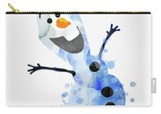 Olaf Watercolor Carry-all Pouch