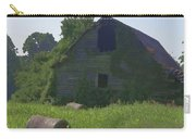 Old Barn And Hay Bales 2 Carry-all Pouch