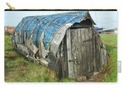 old boat hut at Lindisfarne island Carry-all Pouch