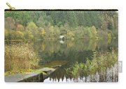 old boathouse at Loch Ard near Aberfoyle in autumn Carry-all Pouch