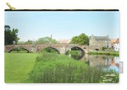 old bridge over river Tyne in Haddington Carry-all Pouch