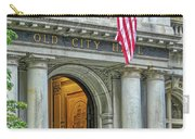 Old City Hall Of Boston Carry-all Pouch