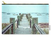 Old Dock Hyannis Port Cape Cod Ma Carry-all Pouch