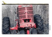 Old Farmall Farm Tractor Color Separation Nh Carry-all Pouch