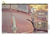 Old Friends Two Rusty Vintage Cars Jerome Arizona Carry-all Pouch