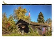 Old Hollow Covered Bridge Carry-all Pouch