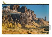 Old Man Of Storr, Skye Carry-all Pouch