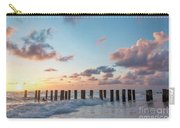 Old Pier Pilings II Carry-all Pouch by Brian Jannsen