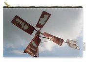 Old Rusty Windmill. Carry-all Pouch