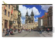Old Town Square Prague Czech Republic  Carry-all Pouch