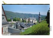 old town walls and church and buildings of Cochem Carry-all Pouch