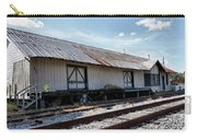 Old Train Depot In Gray, Georgia 2 Carry-all Pouch