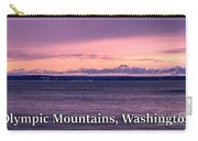 Olympic Mountains, Washington Carry-all Pouch