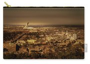 Olympic Stadium Carry-all Pouch by Juan Contreras