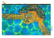 Opal Sea Turtle Carry-all Pouch