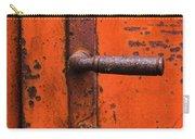 Orange Door Handle Carry-all Pouch