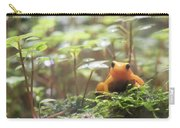Orange Frog. Carry-all Pouch