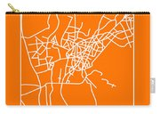 Orange Map Of Cairo Carry-all Pouch