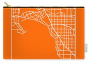 Orange Map Of Melbourne Carry-all Pouch
