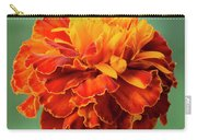 Orange Marigold Carry-all Pouch
