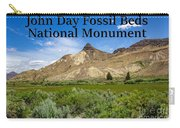 Oregon - John Day Fossil Beds National Monument Sheep Rock 1 Carry-all Pouch