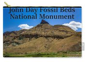 Oregon - John Day Fossil Beds National Monument Sheep Rock 2 Carry-all Pouch