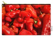 Organic Red Peppers Carry-all Pouch