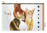 Oriental Shorthair Carry-all Pouch