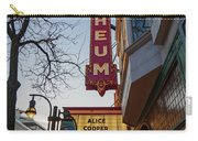 Orpheum Theater Madison, Alice Cooper Headlining Carry-all Pouch