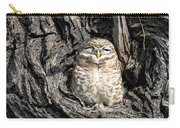 Owl In A Tree Carry-all Pouch