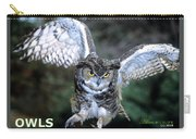 Owls Mascot 2 Carry-all Pouch