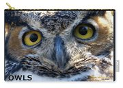 Owls Mascot 3 Carry-all Pouch