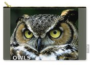 Owls Mascot 5 Carry-all Pouch